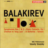 Balakirev: Symphonies no 1 & 2, etc / Sinaisky, et al