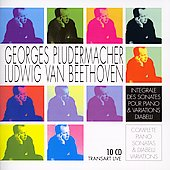 Beethoven: Complete Sonatas for Piano; Diabelli Variations / Georges Pludermacher, piano