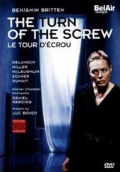 Britten: Turn of the Screw / Harding/Mahler CO, Delunsch [DVD]