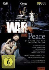 Prokofiev: War and Peace / Bertini/Opera Nationale de Paris, Guryakova, Gunn [2 DVD]
