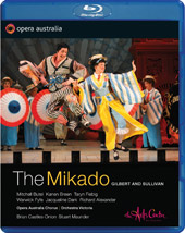 Gilbert And Sullivan: The Mikado / Butel, Breen, Fiebig, Fyfe, Dark [Blu-Ray]