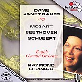 Dame Janet Baker sings Mozart, Beethoven & Schubert