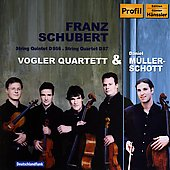 Schubert: String Quintet D 956, Quartet / Vogler Quartet