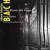 Bach: Die Kunst der Fuge / Gerd Zacher