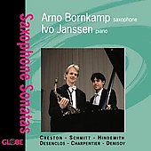 Saxophone Sonatas - Creston, Schmitt, Hindemith, et al