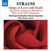R. Strauss: Songs of Love and Death / Fassbender, Dumno