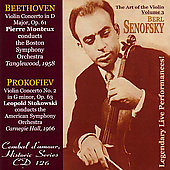 Berl Senofsky - The Art of the Violin Vol 3