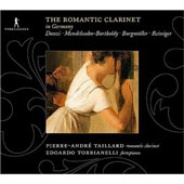 The Romantic Clarinet in Germany - Danzi, Mendelssohn, Burgmüller, etc / Taillard, et al