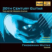 20th Century Guitar - The Art of Modern Guitar / Igor Zhukov, Friedemann Wuttke, New Moscow CO