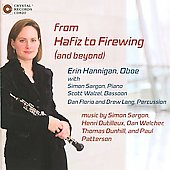 From Hafiz to Firewing - Sargon, Welcher, Dutilleux, etc / Hannigan, Walzel, Florio, et al