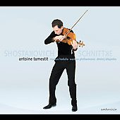 Schnittke: Viola Concerto;  Shostakovich: Viola Sonata / Kitayenko, Tamestit, Hadulla, Warsaw PO