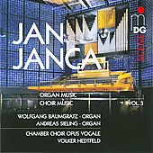 SCENE Jan Janca: Organ Works Vol 3 / Wolfgang Baumgratz, Andreas Sieling, et al