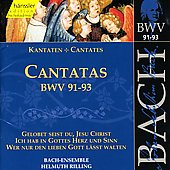 Bach: Cantatas, BWV 91-93