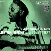 Lightnin' Hopkins: Last Night Blues