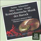 Kom&ouml;diantische Musik des Barock