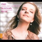 Chopin: Ballades; Piano Concerto No. 2 / Lise de la Salle