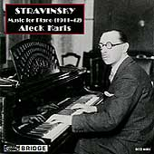 Stravinsky: Music for Piano (1911-42) / Aleck Karis