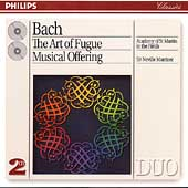 Bach: The Art of Fugue, Musical Offering / Neville Marriner