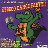 Various Artists: Zydeco Dance Party [GNP Crescendo]