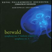 Berwald: Symphonies Nos. 3 & 4 / Bolton