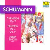 Schumann: Carnaval, Fantasy in C Major / Abbey Simon