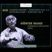 Brahms: Symphonies Nos. 2 & 4; Bruckner: Symphony No. 8 / Gunter Wand