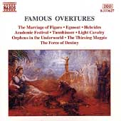 Famous Overtures - Marriage of Figaro, Egmont, Hebrides, etc