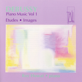 Debussy: Piano Music Vol 1 - Etudes, Images / Roy Howat