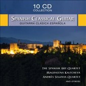 Spanish Classical Guitar / Siegfried Behrend, guitar; Magdalena Kaltcheva, guitar [10 CDs]