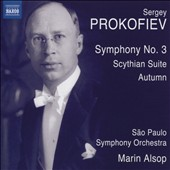 Prokofiev: Symphony No. 3; Scythian Suite; Autumn