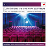 John Williams: The Great Movie Soundtracks - Star Wars; Harry Potter; Indiana Jones; E.T.; Schindler's List; Jurassic Park & more / John Williams