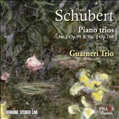 Franz Schubert: Piano Trios No. 1, Op. 99 & No. 2, Op. 100 / Guarneri Trio Prague