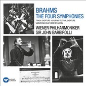 Brahms: The Four Symphonies; Tragic Overture; Academic Festival Overture; Variations on a Theme by Haydn / Barbirolli, Vienna PO (stereo, rec. 1966/67)