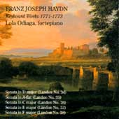 Haydn: Keyboard Works 1771-1773 / Lola Odiaga
