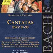 Edition Bachakademie Vol 28 - Cantatas BWV 87-90 / Rilling