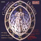 Orff: Carmina Burana / Holt, Kelly, Herrera, De La Fuente