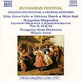 Hungarian Festival / Antal, Hungarian State Orchestra
