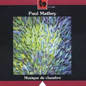 Mathey: Musique de chambre / Mathey, Sachs, et al