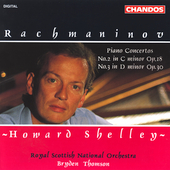 Rachmaninov: Piano Concertos no 2 & 3 / Shelley, Thomson