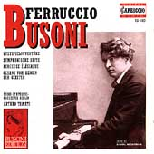 Busoni: Orchestral Works Vol II / Tamayo, RSO Berlin