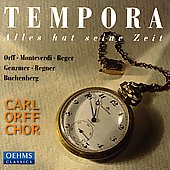 Tempora - Alles hat seine Zeit / Blank, Carl Orff Chor