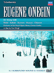 Tchaikovsky: Eugene Onegin / Solti/Orch. Of The Royal Opera House, Covent Garden [DVD]
