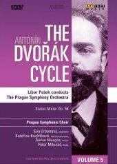 The Dvorak Cycle, Vol. 5, Stabat Mater / Pesek/Prague SO [DVD]