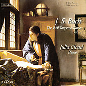 Bach: The Well Tempered Clavier Vol 1 / Julia Cload