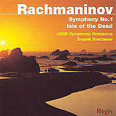 Rachmaninov: Symphony no 1, Isle of the Dead / Svetlanov
