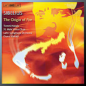 Sibelius: The Origin of Fire, etc / V&#228;nsk&#228;, Hakala, Nyman