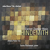 Hindemith - Clarinet Chamber Music / J.B. Yeh, Blackwood