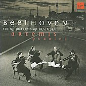 Beethoven: String Quartet Op 59 no 2 & Op 18 no 4 / Artemis String Quartet