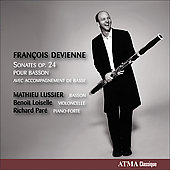 Devienne: Bassoon Sonatas Op. 24 / Lussier, Par&eacute;, Loiselle