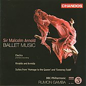 Arnold: Ballet Music / Rumon Gamba